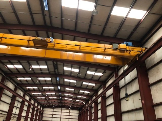25 Ton Anchor and Hoist Bridge Crane with Shawbox Hoist 25tAnchorHoistOBCFSShawboxHoist101618