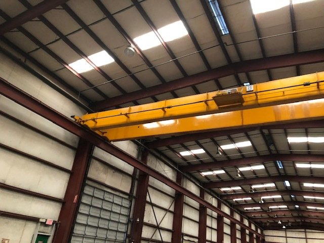 25 Ton Anchor and Hoist Bridge Crane with Shawbox Hoist