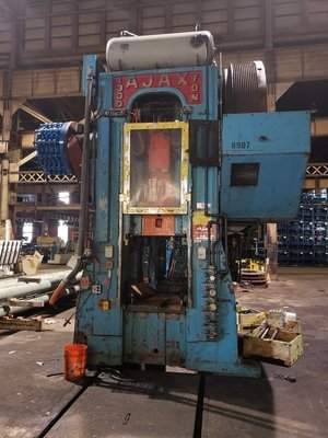 1,300 Ton Ajax Forging Presses For Sale