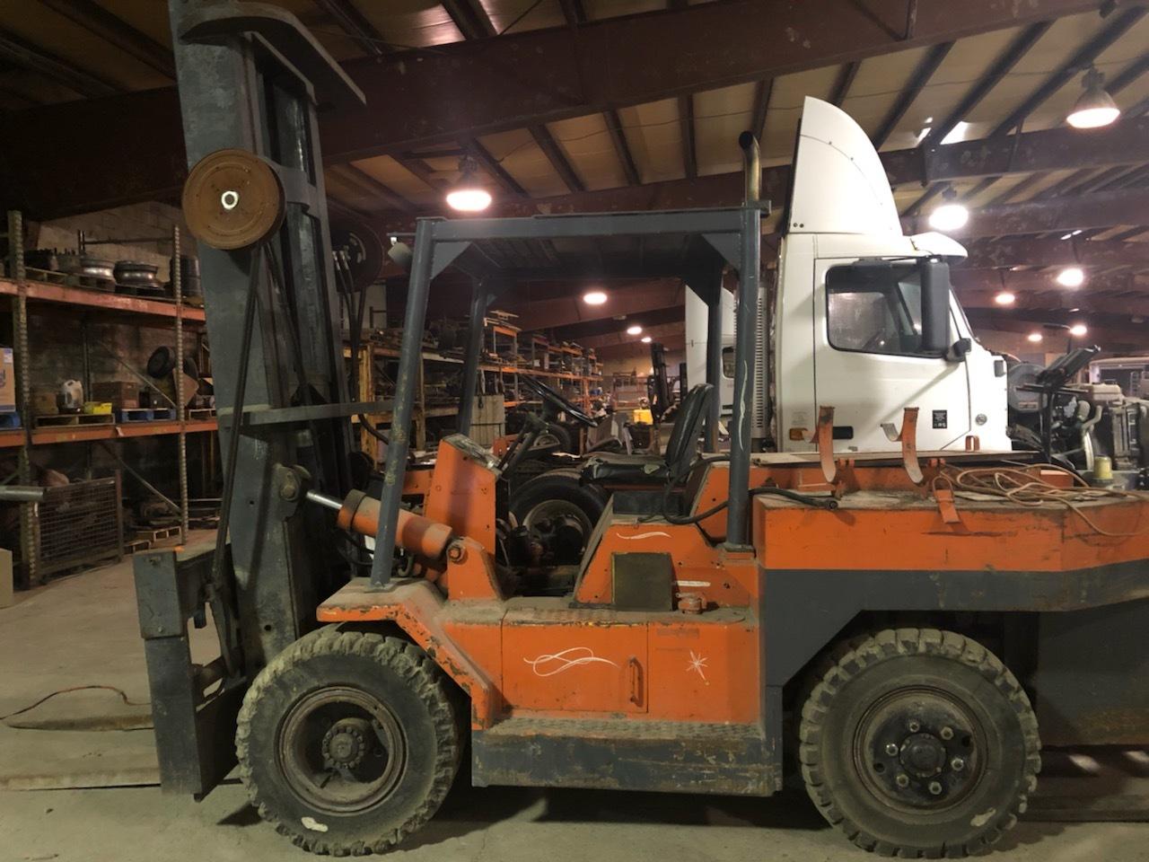 30,000 lb. Capacity Mini Riggers Forklift For Sale 30kCapMiniRiggersFLFS