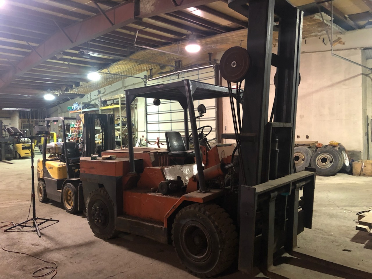 30,000 lb. Capacity Mini Riggers Forklift For Sale