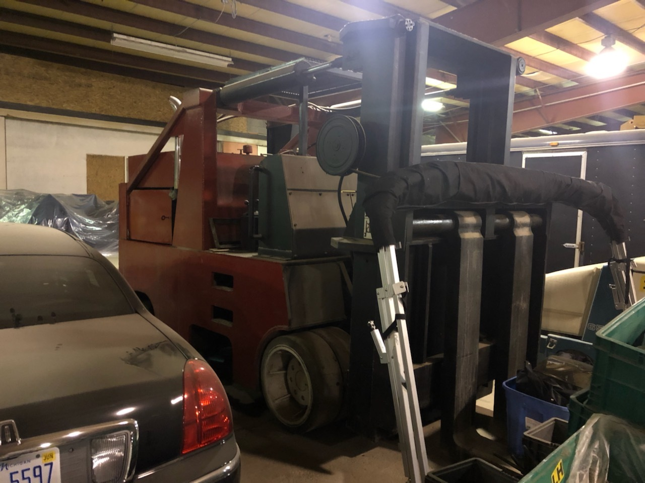 60,000 lb. Capacity Hoist Forklift For Sale