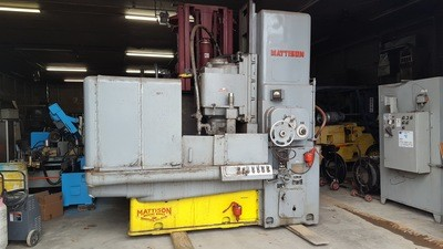 ​Mattison Rotary Surface Grinder For Sale 42