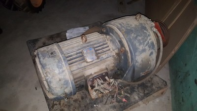 30 HP Louis Allis Electric Motor For Sale