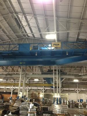 20 Ton Capacity P & H Crane For Sale