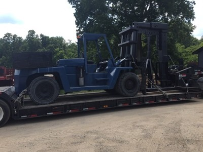 30,000lb Clark Forklift For Sale
