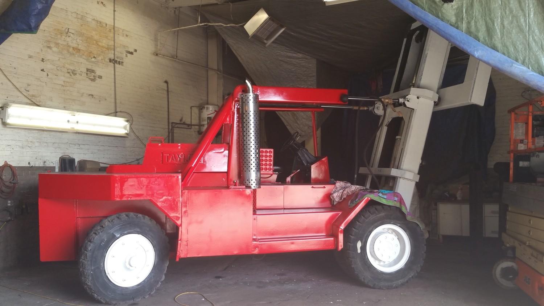 80,000lb Rigger Lift Forklift For Sale