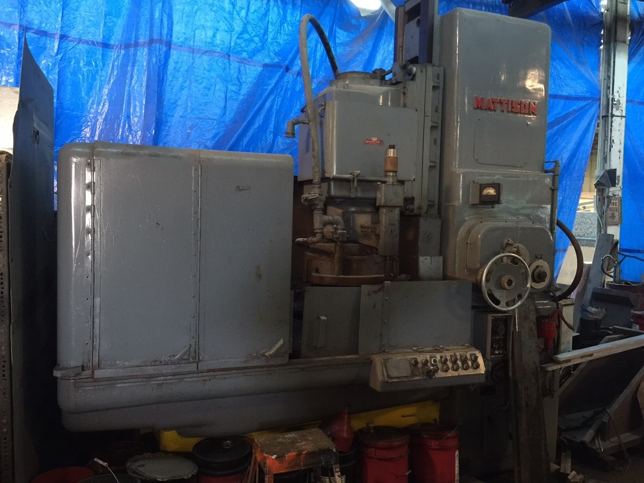 """42"""" Mattison Rotary Surface Grinder For Sale"""
