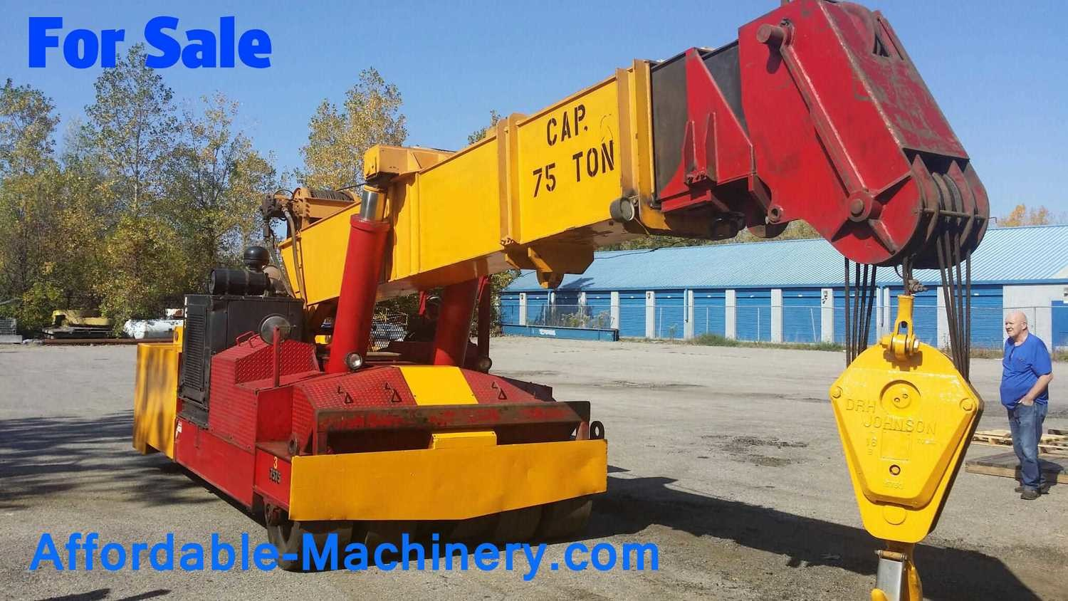 75 Ton Used Mobilift (Mobile Lift) For Sale