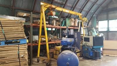 Harrington A-Frame Crane For Sale
