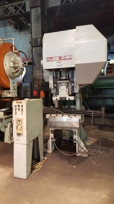 60 Ton Capacity Bliss C-60 Press For Sale