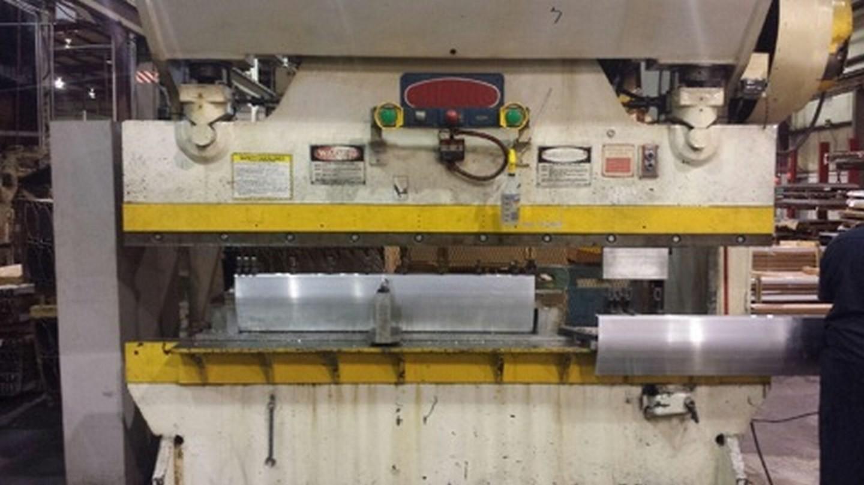 150 Ton Capacity Chicago Dreis & Krump Mechanical Press Brake For Sale