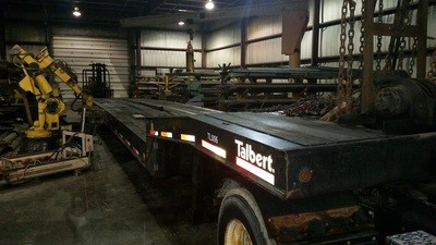 2005 Talbert Trailer with Rolling Axles For Sale