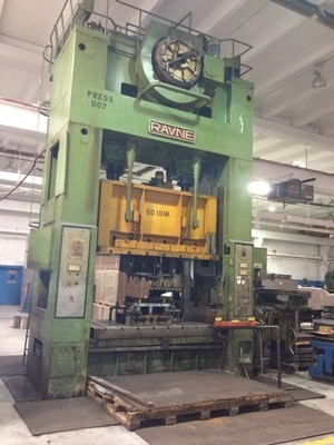 350 Ton Capacity Ravne Straight Side Press For Sale