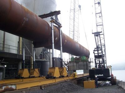 400 Ton Lift Systems Hydraulic Gantry Crane System For Sale