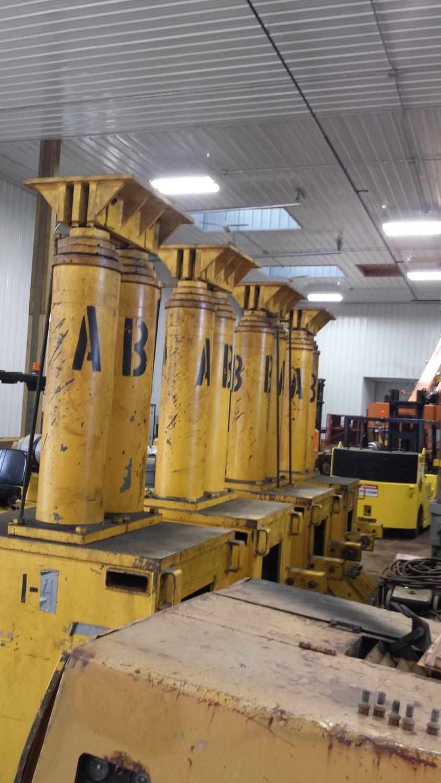 1,000 Ton Lift Systems Hydraulic 48A Gantry Crane System For Sale