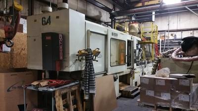 500 Ton Capacity Cincinnati Plastic Injection Molding Machine For Sale