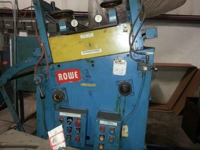10,000lb. Capacity Rowe Servo Feedline For Sale