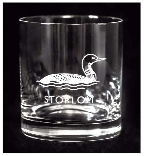 Whiskyglas Fåglar, Design: Marie Stendahl