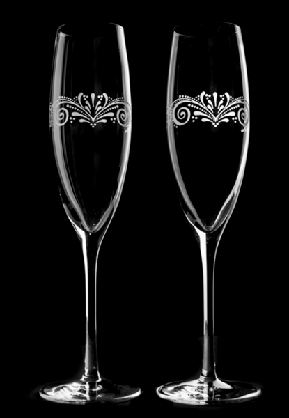 Champagneglas Vikarbyn