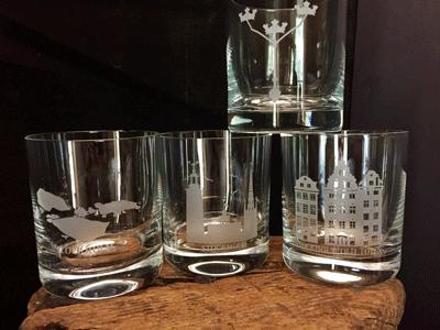 2-Pack Whisky/Dinner glas
