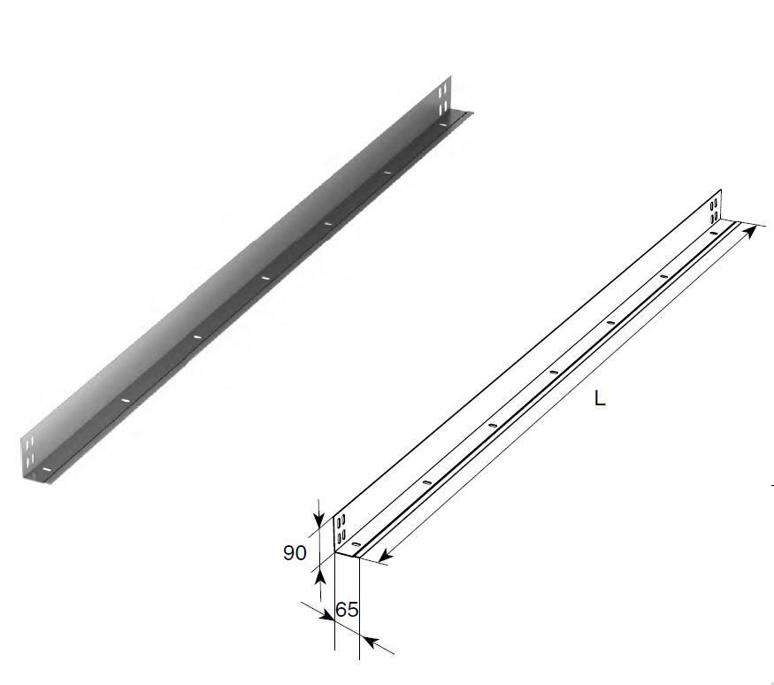 Стойка угловая облегченная (п/м) 11588