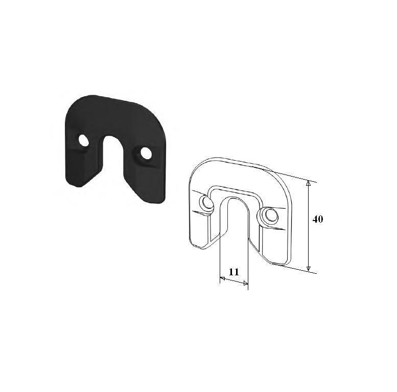 Фиксатор калитки для секционных ворот 11703