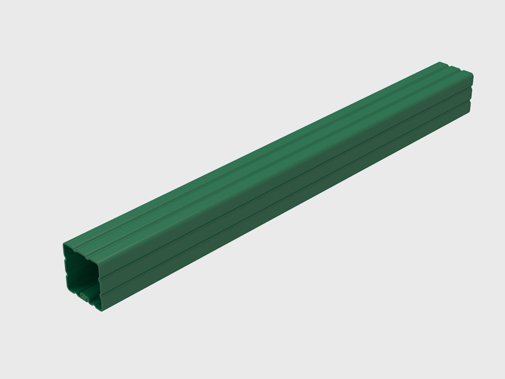 Опора 60х60х1,4 мм для ограждений 11836
