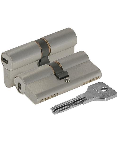 Цилиндровый механизм Cisa (Чиза) ASIX OE300-29.12 (90 мм/40+10+40), хром 11933