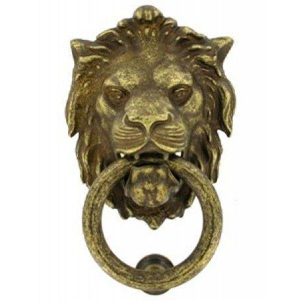 Дверное кольцо 2152 Лев Mr ант.бронза RTINELLI 11973