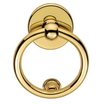 Дверное кольцо KNOCKER ANELLO латунь Pasini