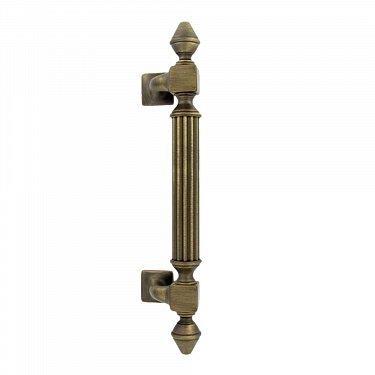 Дверная ручка-скоба IMPERO (ИМПЕРО), размер: 365 мм, межосевое расстояние 235 мм.ZERMAT 11990