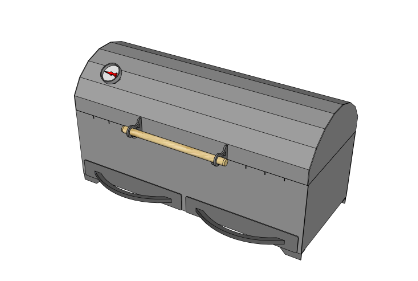 Мангал МL800-K 12140