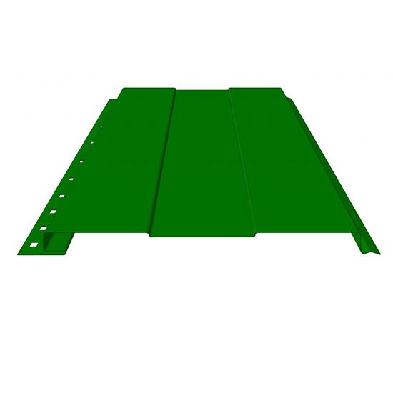 САЙДИНГ Стандарт полиэстер одностороннее покрытия RAL 1018, 2004, 3020, 4005, 4006, 8004. (с полосой) 12182