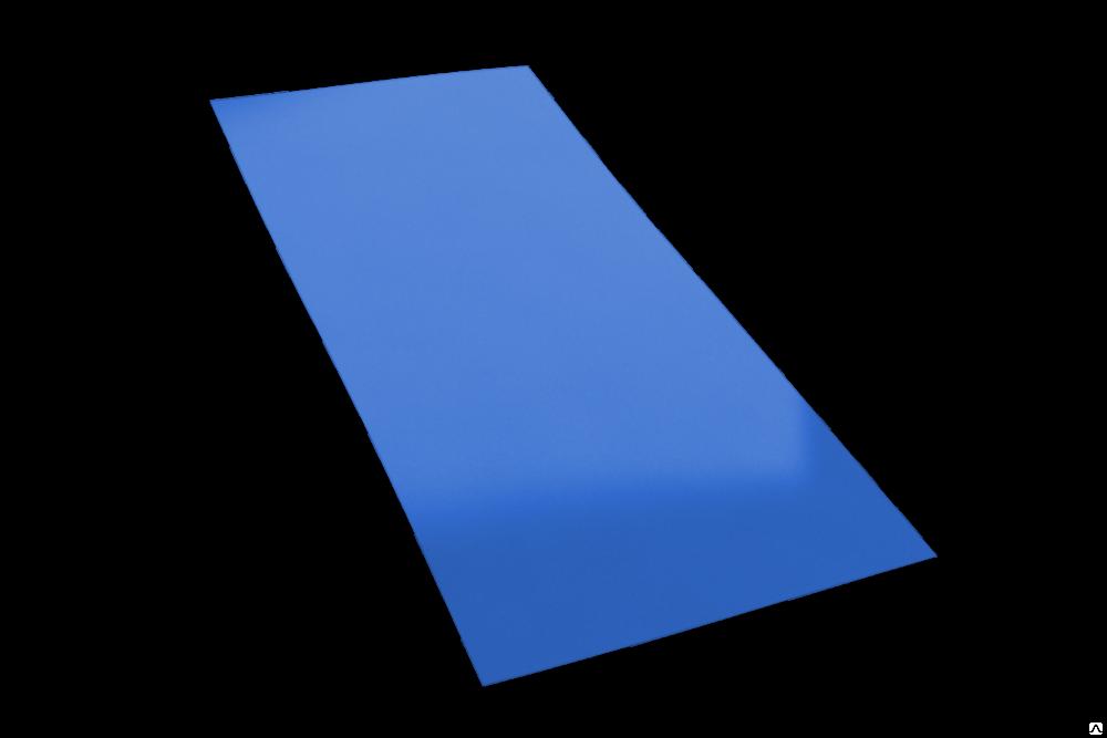 Гладкий лист эконом полиэстер 0,40 мм. 12200