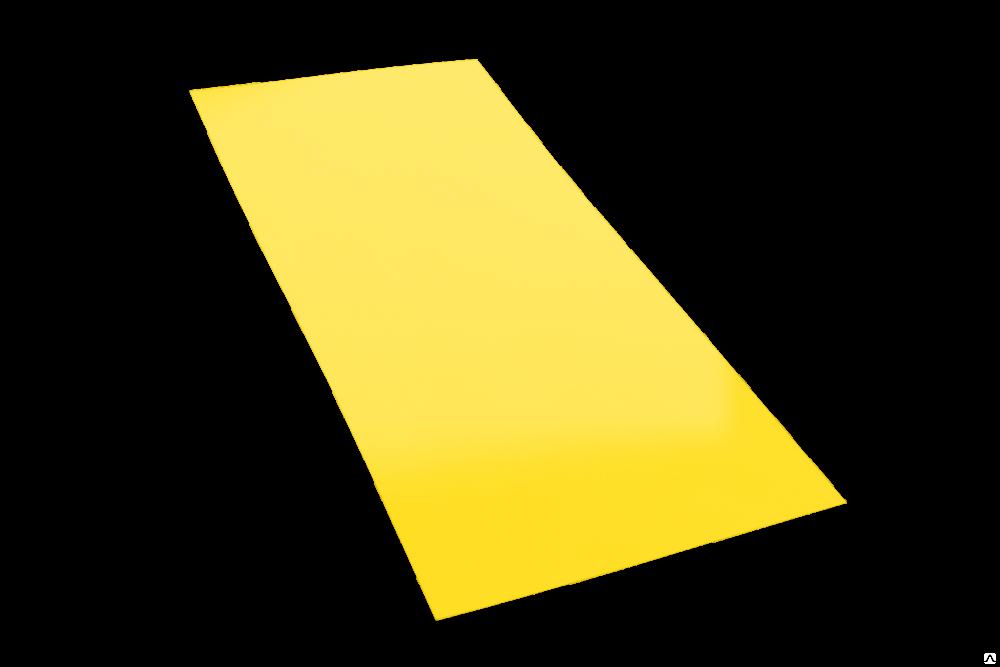 Гладкий лист стандарт полиэстер одностороннее 0,45 мм стандартные цвета RAL. 12201