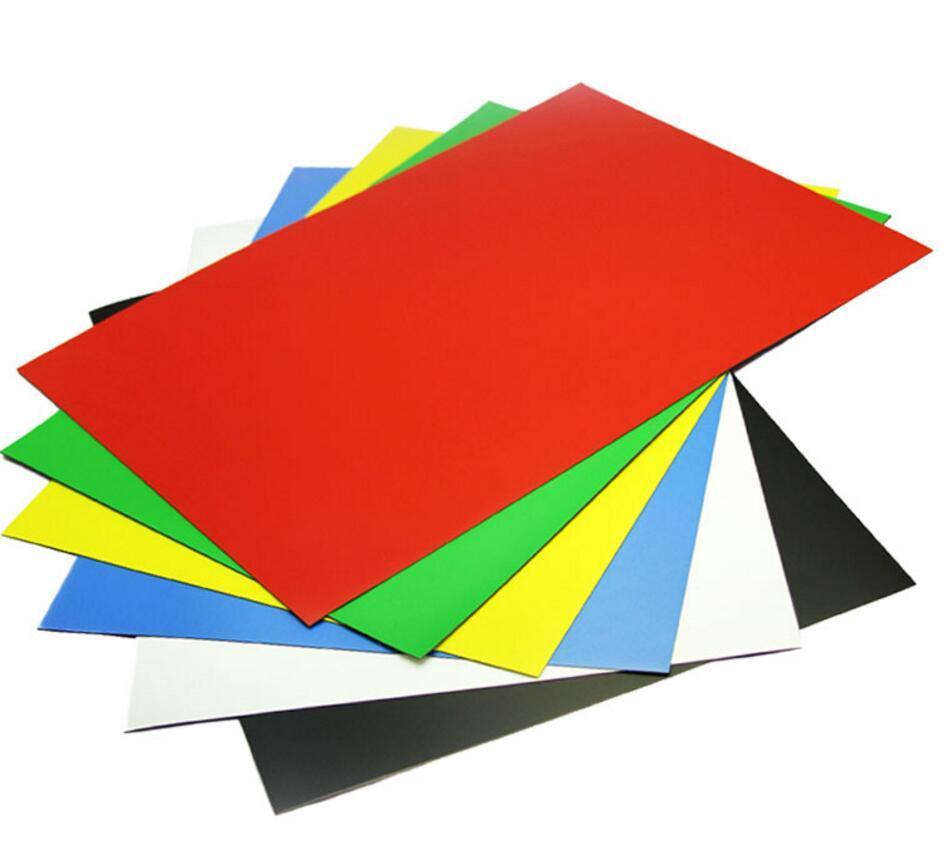 Гладкий лист стандарт полиэстер одностороннее 0,50 мм цвет  3005, 6005, 8017. 12203