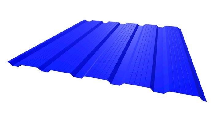 Профнастил НС - 21' стандарт полиэстер одностороннее 0,45 мм цвет 1018, 2004, 3020, 4005, 4006, 8004.