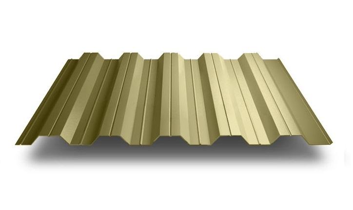 Профнастил НС - 35' стандарт полиэстер одностороннее 0,50 мм цвет  3005, 6005, 8017. 12235