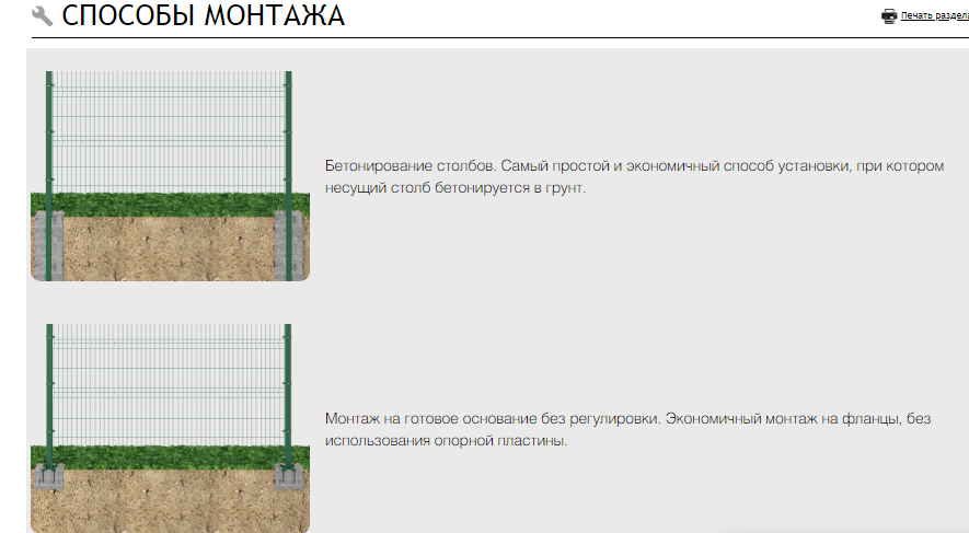 Секция ОПТИМА из прутка 5 мм, 3030x2430 с ячейкой 55х200