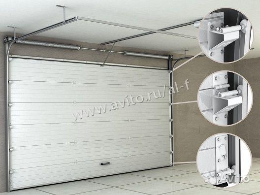 Серия ворот: для теплого исполнения серия RSD 01 пружинами растяжения 12292