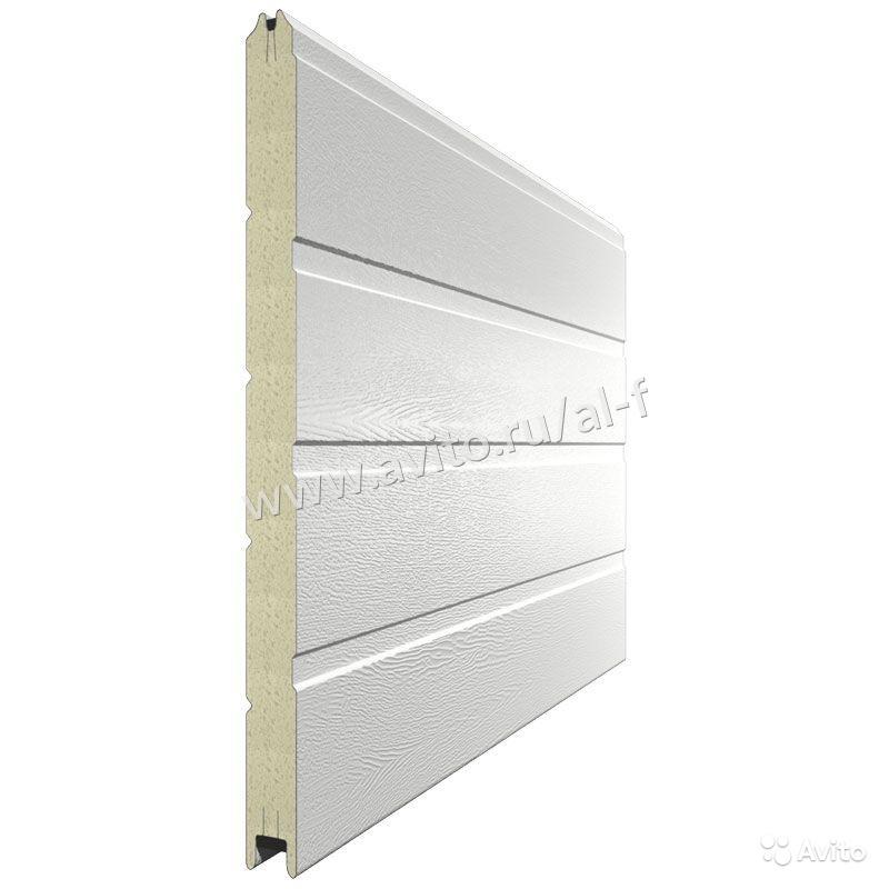 Серия ворот: для теплого исполнения серия RSD 01 пружинами растяжения
