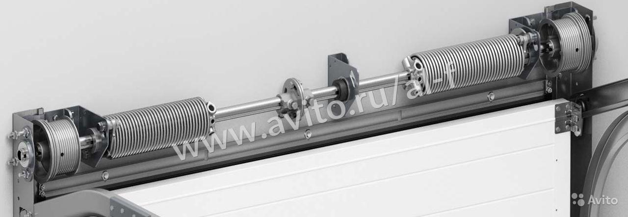 Серия ворот: для холодного исполнения серия RSD 02 SLP  торсионный механизм