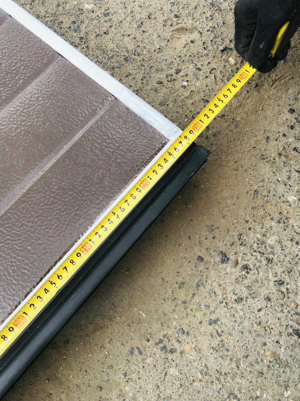Серия ворот: для теплого исполнения серия RSD 01 пружины растяжения