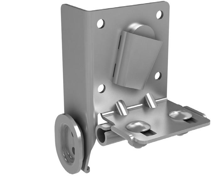 Нижний угловой кронштейн регулируемый (пара) 11149