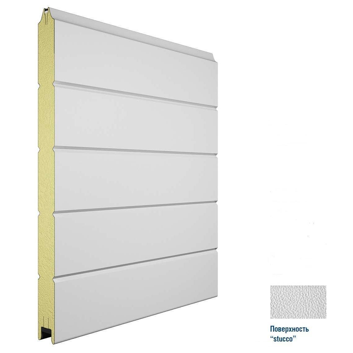 Панель 475мм Нстукко/Нстукко Белый(RAL9003)/Белый(RAL9003) 11150