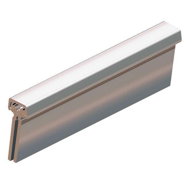 Петля калиточная алюминиевая усиленная 11165