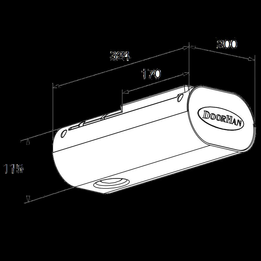 Комплект привода SE-1200KIT