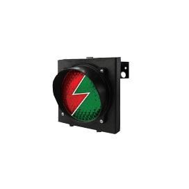 Светофор TRAFFICLIGHT-LED 230В (зеленый+красный) 00140