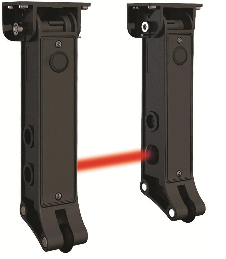 Комплект бесконтактной кромки безопсности для секционных ворот 11422